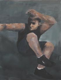 Gemälde eines jungen Mannes